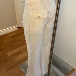 White Cotton Pants Medium 32/31